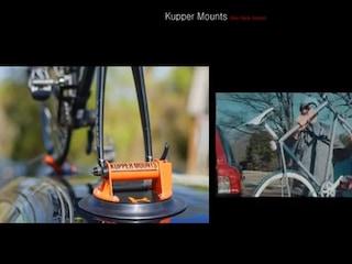 자동차에 자전거를 붙여라! 'Kupper Mounts'-[스나이퍼 뉴스룸]