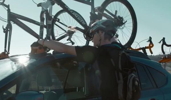 자동차에 자전거를 붙여라!