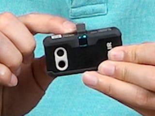 스마트폰이 열화상 카메라로..