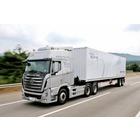 현대차, 물류 혁신 '신호탄' 대형트럭 자율주행 시연 성공