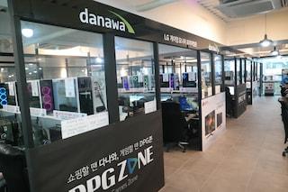 다나와 DPG ZONE 오목교 2호점에서 만나본 LG 게이밍 모니터