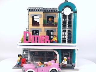 레고 크리에이터 10260 모듈러 다운타운 레스토랑