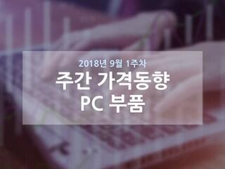 [주간 가격동향] 인텔 재고부족 심화, RAM/SSD 가격 하락세 지속