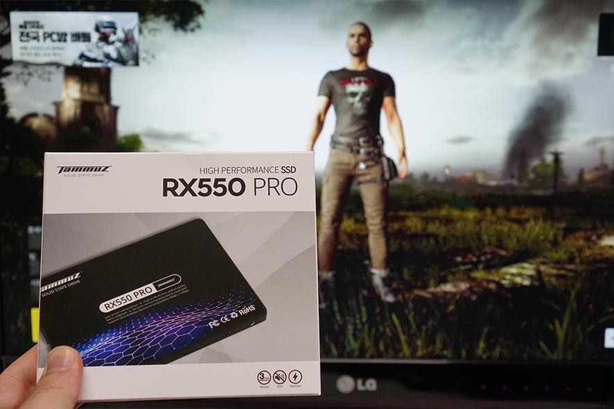 타무즈 RX550 PRO 250GB SSD - 높은 퍼포먼스에 가성비 좋은 SSD