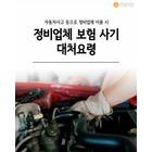 [혼족들 어서와!] 자동차 사고났을 때 정비업체 이용 시-보험 사기 대처요령