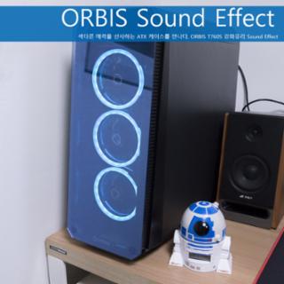 소리에 반응하는 PC케이스, ORBIS T760S 강화유리 Sound Effect