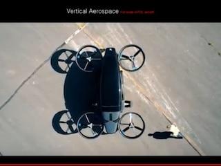 하늘을 나는 비행 택시 'Vertical Aerospace'
