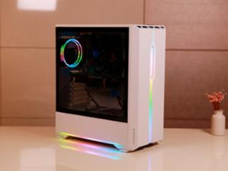 앱코 310R 아이리스 스펙트럼 RGB 밀키화이트, 와이프의 마음까지 사로잡을 예쁜 컴퓨터 케이스는?