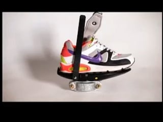 VR을 위한 신발 'Cybershoes'