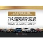 GAC 모터, 중국 IQS 최고의 브랜드 선정