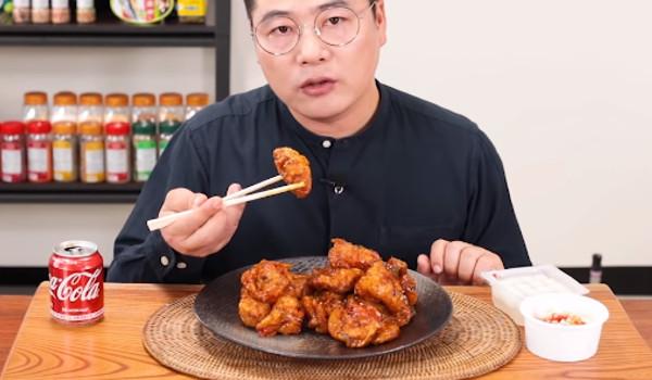 맵기론 한국 원탑이라는 치킨