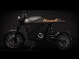 미래지향적 전기오토바이 'Tarform'