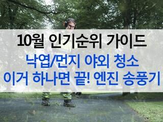 [10월 인기순위 가이드] 낙엽/먼지 야외 청소 이거 하나면 끝!
