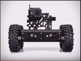 액션캠이 장착된 RC 장갑차 'Pan/Tilt Minibot'