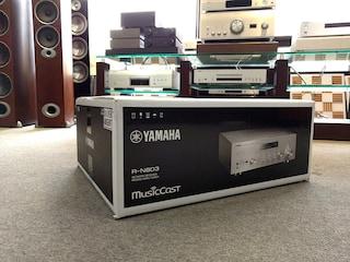 자동 튜닝 사운드 야먀하 R-N803 하이파이리시버  시연제품 개봉기