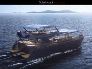 끝없이 항해하는 태양광 요트 'SolarImpact'