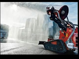 원격 소방 로봇 'Magirus Aircore TAF35'