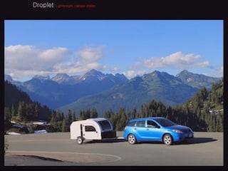 가벼운 북유럽 캠핑 트레일러 'DROPLET'