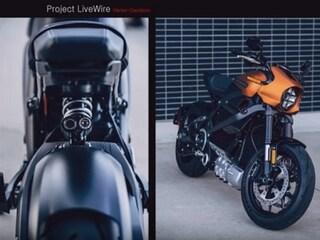 할리데이비슨 첫 전기오토바이 'LiveWire'