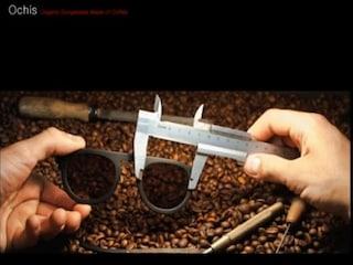 커피 찌꺼기로 만든 유기농 선글라스 'Ochis'