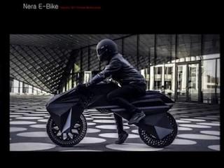 순도 100% 3D 프린팅 모터사이클 'Nera E-Bike'