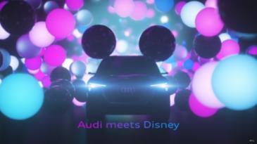 아우디-디즈니, 자율 주행을 위한 '새로운 미디어'  CES에서 공개