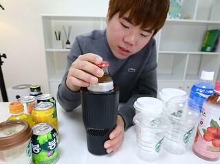 """탭군 """"냉장과 온장 사이, 차량용 컵홀더"""""""