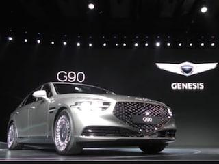 신형 제네시스 G90 출시현장에서… EQ900에서 G90으로 돌아온 제네시스의 플래그십 세단! (All-New Genesis G90 unveiling)