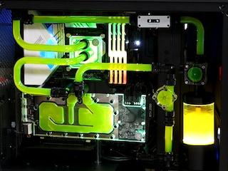 커스텀 수랭 PC, 9700K로 5.2GHz 도전!!! 하이엔드 커스텀 수랭 PC 조립 3부