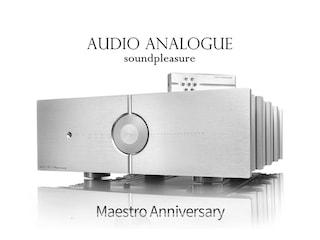 다부지고 섬세한 4옴 300W 인티앰프  Audio Analogue Maestro Anniversary