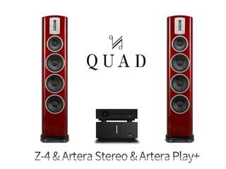 대영제국의 보물 쿼드의 정점을 듣는다 - Quad Z-4 & Artera Stereo & Artera Play+