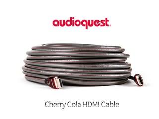 20m짜리 4K HDMI 광케이블의 참을 수 없는 유혹 - AudioQuest Cherry Cola HDMI Cable