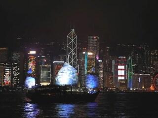 겨울, 홍콩 여행의 빛