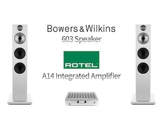 매칭의 진가를 확인한 조합- B&W 603 Speaker + Rotel A14 Integrated Amplifier