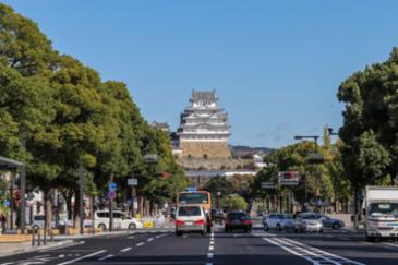 [오사카 근교 당일여행]  백로가 살포시 앉은 듯, 신비로운 히메지성