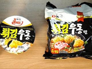 튀김우동 컵면 VS 봉지면 [도사마의 밥상]
