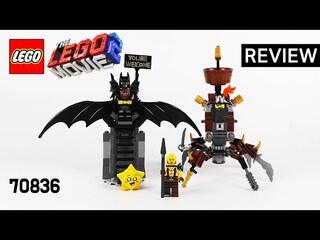 레고 무비2 70836 전투 준비를 마친 배트맨과 메탈비어드(Battle-Ready Batman and MetalBeard)
