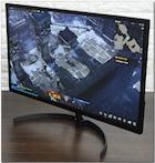 울트라슬림 WQHD 고화질 모니터, 한성컴퓨터 ULTRON 2768 BLADE New