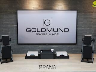 음악에 숨결을 불어넣는 Goldmund Prana Speaker