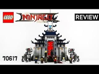 레고 닌자고무비 70617 절대지존 무기의 신전(Temple of the Ultimate Ultimate Weapon)