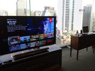 넷플릭스 주최 '거실에서 펼쳐지는 엔터테인먼트 킹덤' 미디어 쇼케이스