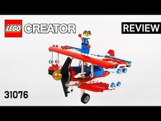 레고 크리에이터 31076 스턴트 비행기(Creator 3in1 Daredevil Stunt Plane)