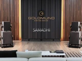 아폴로그 애니버서리의 유산을 현실적으로 계승한 모델  Goldmund Samadhi Active Wireless Speaker