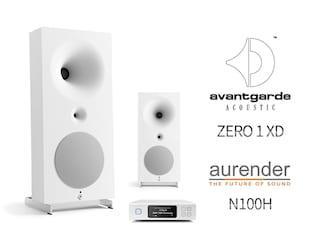 미니멀리즘의 끝판왕 Avantgarde Acoustic ZERO 1 XD + Aurender N100H