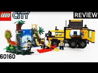 레고 시티 60160 정글 이동 실험실(LEGO City Jungle Mobile Lab)