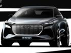 아우디, 전기 SUV ′Q4 e-트론 콘셉트′ 공개..디자인 특징은?