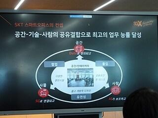 SK텔레콤 '5G 스마트오피스' 공개 기자간담회