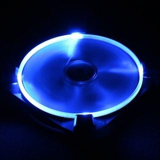 복불복 상점 Antec TrueQuiet UFO 120mm LED Blue 블랙 진동 패드