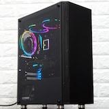 강력한 미니타워! 아이구주 M7 RGB LED 강화유리 블랙 PC 케이스 사용기