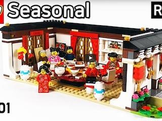 레고 시즈널 80101 구정 전야 만찬(LEGO Seasonal Chinese New Year's Eve Dinner)